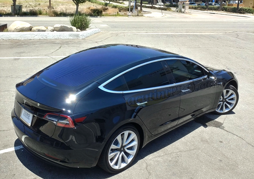Tesla 3 Examples Of Tint Shades By Acutintpro The Auto Tint