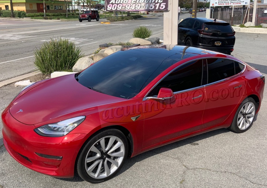 TESLA Model 3 Viewer by AcutintPRO, the Auto Tint Experts in Upland, CA