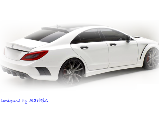 White Mercedes-Benz